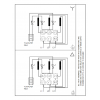 Схема подключения вертикального многоступенчатого центробежного насоса CRN 120-4-1 HQQE Grundfos
