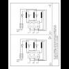 Схема подключения вертикального многоступенчатого центробежного насоса CRN 150-3-2 HQQV Grundfos