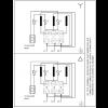Схема подключения вертикального многоступенчатого центробежного насоса CRT 2-26 AUUE Grundfos