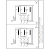 Схема подключения вертикального многоступенчатого центробежного насоса CRT 8-12 AUUE Grundfos