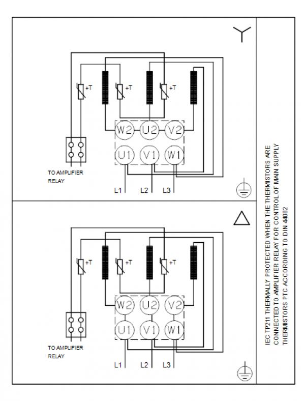 Схема подключения вертикального многоступенчатого центробежного насоса CRN 150-2-1 HQQV Grundfos