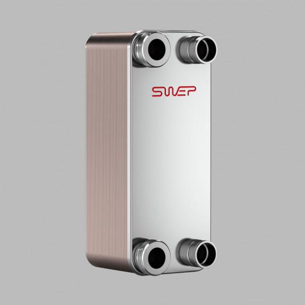 Паяный пластинчатый теплообменник SWEP B10
