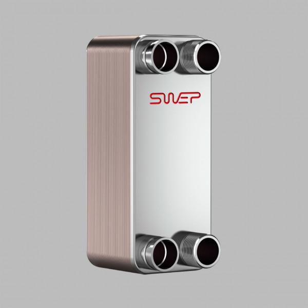 Паяный пластинчатый теплообменник SWEP В12