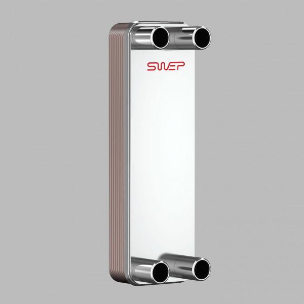 Паяный пластинчатый теплообменник SWEP B18