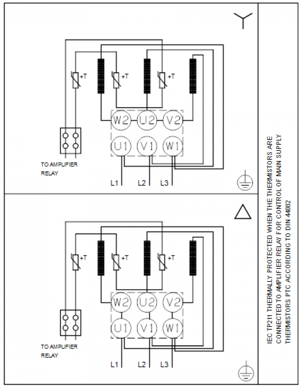 Схема подключения вертикального многоступенчатого центробежного насоса CRT 8-8 AUUE Grundfos