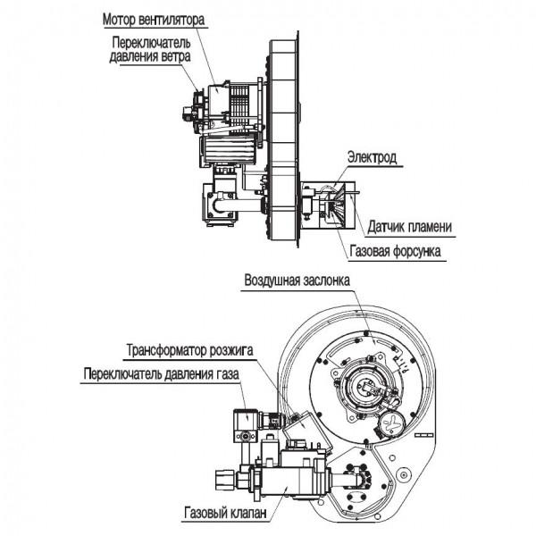 Navien GST-49K Silver, Газовый напольный котёл Навьен