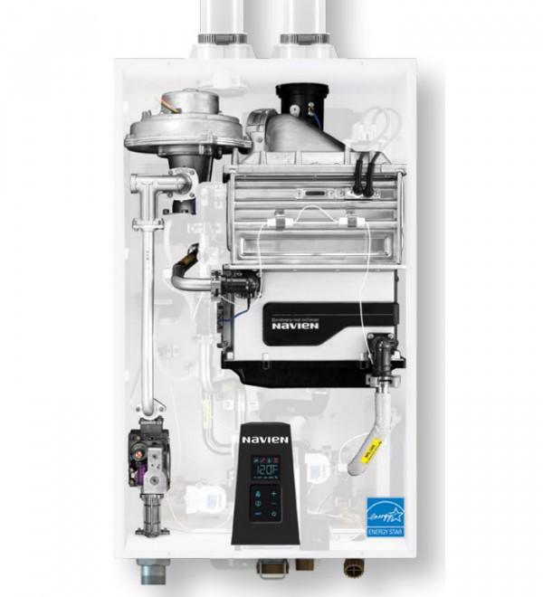 Navien NPE-32 SRC, Настенный газовый конденсационный проточный водонагреватель Навьен