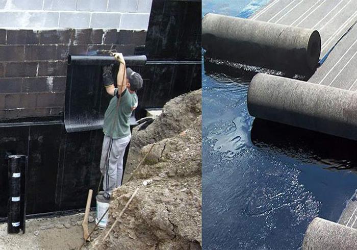 Оклеечная гидроизоляция